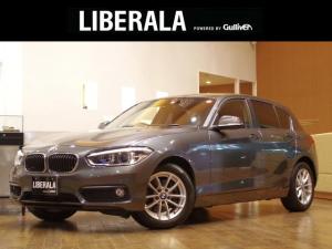 BMW 1シリーズ 118i 純正ナビ LEDライト ミラー一体型ETC プッシュスタート 純正16インチAWアイドリングストップ