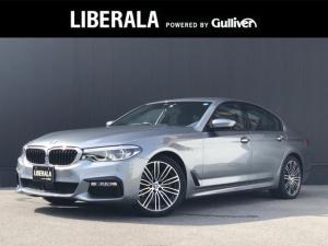 BMW 5シリーズ 523d Mスポーツ ワンオーナー ハイラインPKG 純正HDDナビ 全方位カメラ 前席パワーシート 全席シートヒーター パドルシフト クリアランスソナー LEDヘッドライト ETC パワーバックドア