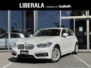 BMW 1シリーズ 118d スタイル 純正ナビ バックカメラ LEDヘッドライト ハーフレザーシート クルコン レーンキープ