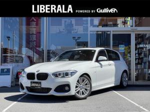 BMW 1シリーズ 118i Mスポーツ サンルーフ パーキングサポートPKG ナビ バックカメラ ETC LEDヘッドライト シートカバー 車高調 ゴング音変更コーディング 始動時アイドルストップOFFコーディング アンサーバック音有り