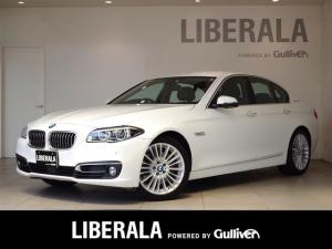 BMW 5シリーズ アクティブハイブリッド5 ラグジュアリー ACC 黒革 LEDアクティブクルーズ 衝突軽減B レーンDチェンジW アダプティブLED 黒革シート純正iDriveナビ フルセグTV バックカメラ パワーシート/ヒーター 純正19inchAW