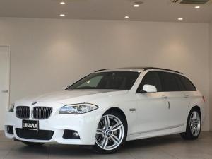 BMW 5シリーズ 535iツーリング Mスポーツ サンルーフ 黒レザーシート 純正19インチAW コンフォートアクセス 純正HDDナビ Bluetooth バックカメラ クリアランスソナー パワーシート シートヒーター クルーズコントロール ETC