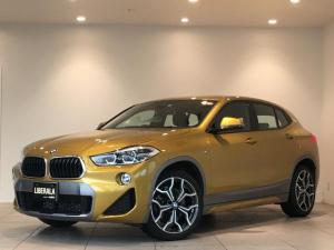BMW X2 xDrive 20i MスポーツX ACC コンフォートアクセス シートヒーター レーンキープアシスト 衝突被害軽減ブレーキ 純正ナビ バックカメラ クリアランスソナー Bluetooth DVD パワーバックドア LEDヘッドライト