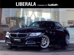 BMW Z4 sDrive20i ハイラインパッケージ レザーシート/前席パワーシート/シートヒーター/純正HDDナビ・CD・DVD・Bluetooth/バックカメラ/BBS18インチアルミホイール/革巻きステアリング/パドルシフト/ドライブレコーダー