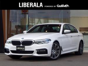 BMW 5シリーズ 523d Mスポーツ ・1オーナー・コンフォートアクセス・アダプティブクルーズコントロール・全方位カメラ・純正HDDナビ/地デジ/DVD/CD/USBオ/Bluetooth対応・純正19AW・ヘッドアップディスプレイ