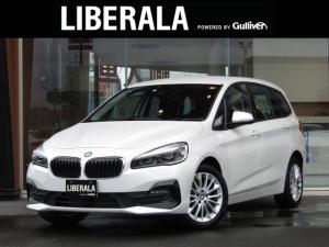 BMW 2シリーズ 218dグランツアラー ・純正HDDナビ・バックカメラ・純正LEDヘッドライト・オートライト・フロントコーナーセンサー・純正17インチAW・衝突軽減ブレーキ・レーンアシスト・ミラー一体型ETC