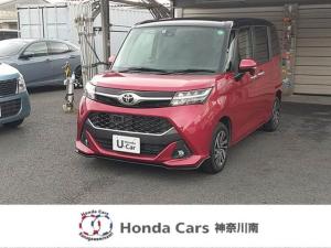 トヨタ タンク カスタムG S 純正ナビ TV Bモニ 両側電動スライドドア シートヒーター LEDヘッドライト ETC
