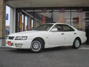 日産 ローレル 25クラブSタイプX ワンオーナー・当社買取車輌・純正マルチAVシステム・RB25・スペアカードキー
