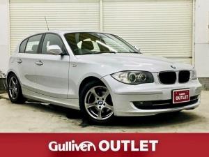 BMW 1シリーズ 116i 社外SDナビ ETC HIDヘッドライト 純正16インチAW キーレスリモコン プッシュスタート 革巻きステアリング ワンセグ