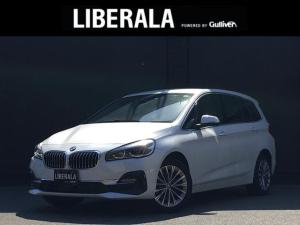 BMW 2シリーズ 218dグランツアラー ラグジュアリー/黒革.Sヒーター