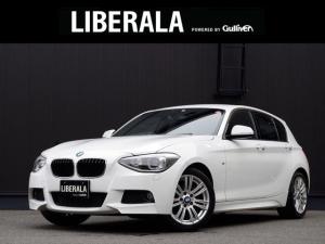BMW 1シリーズ 116iMスポーツ/黒革.Sヒーター.純正ナビ.バックカメラ
