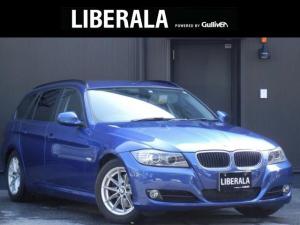 BMW 3シリーズ 320iツーリング HDDナビ/CD/DVD/AUX スマートキー/プッシュスタート パワーシート ステアリングスイッチ ミラー一体型ETC 純正16インチAW オートライト HIDライト 保証書/取説/スペアキー