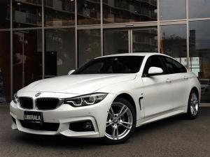 BMW 4シリーズ 420iグランクーペ Mスポーツ インテリジェントS LKA BSM ドライビングA PDC ACC コンフォートA HDDナビ/DVD/フルセグTV/BT Bカメラ 電動リアゲート パワーシート 純正18インチAW ETC LED