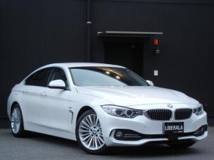 BMW 4シリーズ 420iグランクーペ ラグジュアリー インテリジェントS 本革/ヒーター/パワーシート 電動Rゲート ETC HDDナビ/CD/DVD/USB/AUC/BT オートライト パドルシフト ドラレコ 純正18インチAW コンフォートA