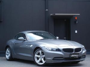 BMW Z4 sDrive23i ハイラインパッケージ 本革/ヒーター/パワーシート/メモリシート 電動オープン パドルシフト ETC HDDナビ/DVD/CD/AUX/TV 純正17インチAW プッシュスタート オートライト 保証書/取説/スペアキー