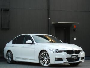 BMW 3シリーズ 320d Mスポーツ インテリジェントS/衝突軽減B/LDW PDC ACC OP19インチAW オートライト/HID コンフォートA パワーシート パドルシフト ナビ/DVD/CD/USB/AUX/BT Bカメラ ETC
