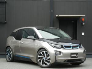 BMW i3 レンジ・エクステンダー装備車 茶革/ヒーター インテリジェントS ACC スマートキー HDDナビ/AUX/USB/BT 社TVチューナー Bカメラ オートライト/LED ドラレコ 社外レーダー 純正19インチAW ETC