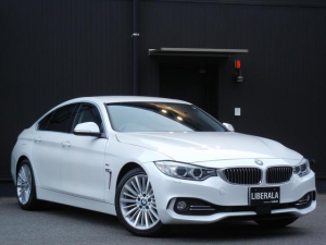 BMW 4シリーズ 420iグランクーペ ラグジュアリー インテリジェントS ACC 本革/ヒーター/パワーシート 電動Rゲート ETC HDDナビ/CD/DVD/USB/AUC/BT オートライト パドルシフト ドラレコ 純正18インチAW コンフォートA
