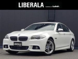 BMW 5シリーズ 523d Mスポーツ サンルーフ インテリジェントS/ACC/LDW コンフォートA ナビ/CD/DVD/USB/AUX/BT/TV Bカメラ 純正18インチAW オートライト/HID オートホールド パドルシフト ETC