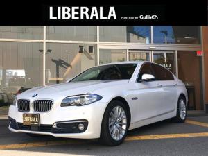 BMW 5シリーズ 523d ラグジュアリー 黒革 ACC 純正ナビ CD/DVD/DTV/USB/Bluetooth バックカメラ ETC シートヒーター 前後コーナーセンサー スマートキー メモリーシート
