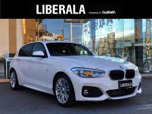 BMW 1シリーズ 118d Mスポーツ インテリジェントセーフティー 純正ナビ ETC BT USB AUX 車線逸脱警告 横滑り防止装置 LEDヘッドライト 純正17インチAW