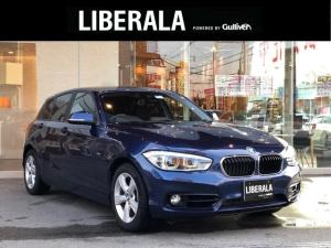 BMW 1シリーズ 118i スポーツ インテリジェントセーフティ レーンディパーチャーウォーニング 純正HDDナビ バックカメラ クルーズコントロール LEDヘッドライト オートライト