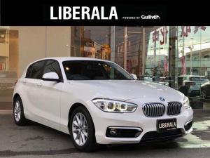 BMW 1シリーズ 118i スタイル インテリジェントセーフティー 純正ナビ バックカメラ ETC クルコン ハーフレザーシート LEDヘッドライト 純正16インチAW