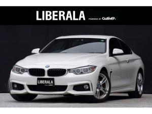 BMW 4シリーズ 420iクーペ Mスポーツ レッドレザーシート シートヒーター パワーシート コンフォートアクセス インテリジェントセーフティ レーンディパーチャーウォーニング クルーズコントロール リアビューカメラ パークアシスト PDC