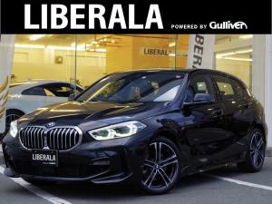 BMW 1シリーズ 118i Mスポーツ ワンオーナー 純正ナビ Bカメラ コンフォートPKG オートマチックテールゲートオペレーション アクティブクルーズコントロール LEDライト パワーシート ドライビングアシスト