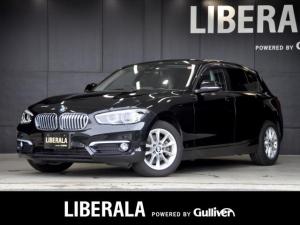 BMW 1シリーズ 118i スタイル インテリジェントセーフティ パーキングサポートPKG iDriveナビ バックカメラ LEDヘッドライト ミラー内臓ETC ハーフレサーシート クルーズコントロール プッシュスタート リアPDC