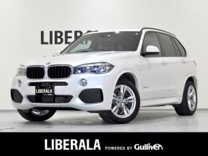 BMW X5 xDrive 35d Mスポーツ iDriveナビ フロント/リア/360度カメラ パノラマサンルーフ ブラックレザーシート 全席ヒーター ACC LEDヘッドライト フロント/リアフォグライト オートライト レインセンサー