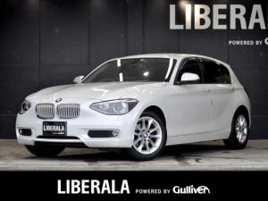 BMW 1シリーズ 116i スタイル SDDナビ(CN-GP700FVD) フルセグTV/CD バックカメラ ミラー一体型ETC コンフォートアクセス 純正16インチアルミホイール オートエアコン HIDヘッドライト オートライト
