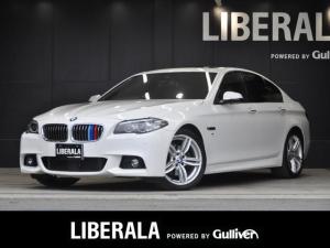 BMW 5シリーズ 523i Mスポーツ サンルーフ 本革シート 前席パワーシート・シートヒーター 純正HDDナビ フルセグTV CD/DVD バックカメラ 純正19インチAW パドルシフト PDC コンフォートアクセス ETC  ISF