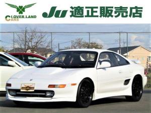 トヨタ MR2 GT-S 5速マニュアル 柿本マフラー 車高調 ロールケージ TRC 16インチアルミホイ-ル