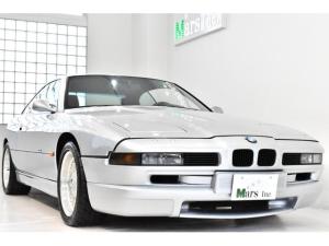 BMW 8シリーズ 正規D車 最終型1オーナー 全ディーラー整備記録簿 左H