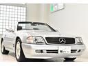 メルセデス・ベンツ/M・ベンツ SL320 正規D車 Wコンビステアリング 社外ナビ 右H