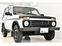 ラーダ/ラーダ ニーバ 4WD 左ハンドル 純正ルーフラック サイドモール 社外ナビ