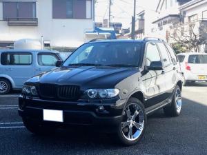 BMW X5 3.0i 20inアルミ 黒革  HDDナビ 地デジ