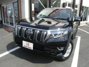 トヨタ ランドクルーザープラド TX 新車 セットオプション SDワイドナビ クリアランスソナー