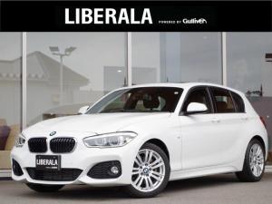 BMW 1シリーズ 118i Mスポーツ サンルーフ  純正HDDナビ  CD DVD MS BT AUX クルーズコントロール バックカメラ レーンディパーチャウォーニング コーナーセンサー ミラー一体ETC LED 純正マット 電格ミラー
