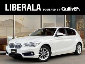 BMW 1シリーズ 118i スタイル 純正HDDナビ クルーズコントロール レッドレザーシート コーナーセンサー LEDヘッドライト レーンキープアシスト インテリジェントセーフティ純正16インチアルミホイール アイドリングストップ