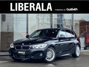 BMW 1シリーズ 118i Mスポーツ コンフォートアクセス ACC 前席シートヒーター インテリセーフティ 純正ナビ(タッチ式) usb 後カメラ 前後コーナーセンサ ミラーETC LED フォグ 走行モード切替 スペア