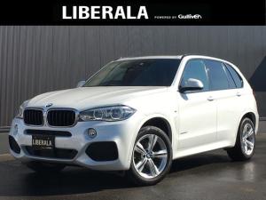 BMW X5 xDrive 35d Mスポーツ ACC 黒革シート 360度カメラ フルセグTV 全席シートヒーター パワーシート(D/N) LEDヘッドライト パワーバックドア オートライト ETC