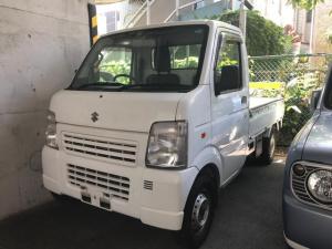 スズキ キャリイトラック KCエアコン・パワステ 4WD MT 軽トラック 三方開