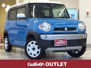 スズキ ハスラー G 1オーナー・社外SDナビ・Bluetooth・地デジ・衝突軽減・運転席シートヒーター・ETC・ヘッドライトレベライザー・ドアバイザー
