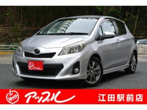 トヨタ ヴィッツ RS 5速MT 純ナビTV スマートキー 禁煙車 1年保証