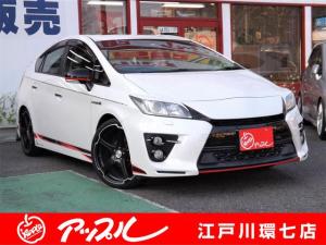 トヨタ プリウス Sツーリングセレクション・G's 社外アルミ ナビTV