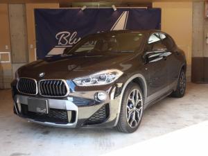 BMW X2 xDrive 20i MスポーツX 1年保証 LEDヘッドライト バックカメラ コーナーセンサー シートヒーター ヘッドアップディスプレイ 純正ナビ オートライト 電動リアゲート コンフォートアクセス アダプティブクルーズコントロール