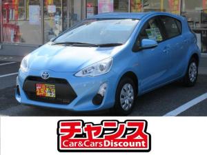 トヨタ アクア L SDナビ ワンセグTV CD Bluetooth 電動格納ドアミラー ETC 横滑り防止 キーレス