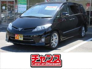 トヨタ エスティマ 2.4アエラス 20thアニバーサリーエディション SDナビ DVD フルセグ バックカメラ 両側電動スライドドア